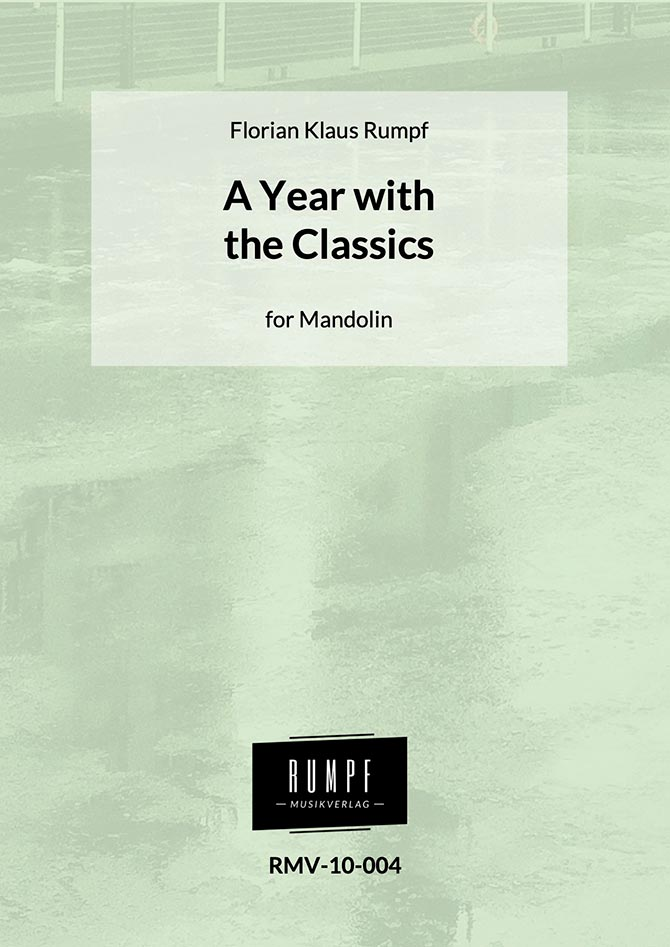 Florian Klaus Rumpf's A Year with the Classics Launches