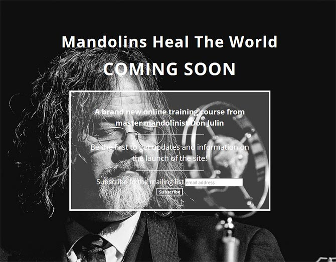 Mandolins Heal The World
