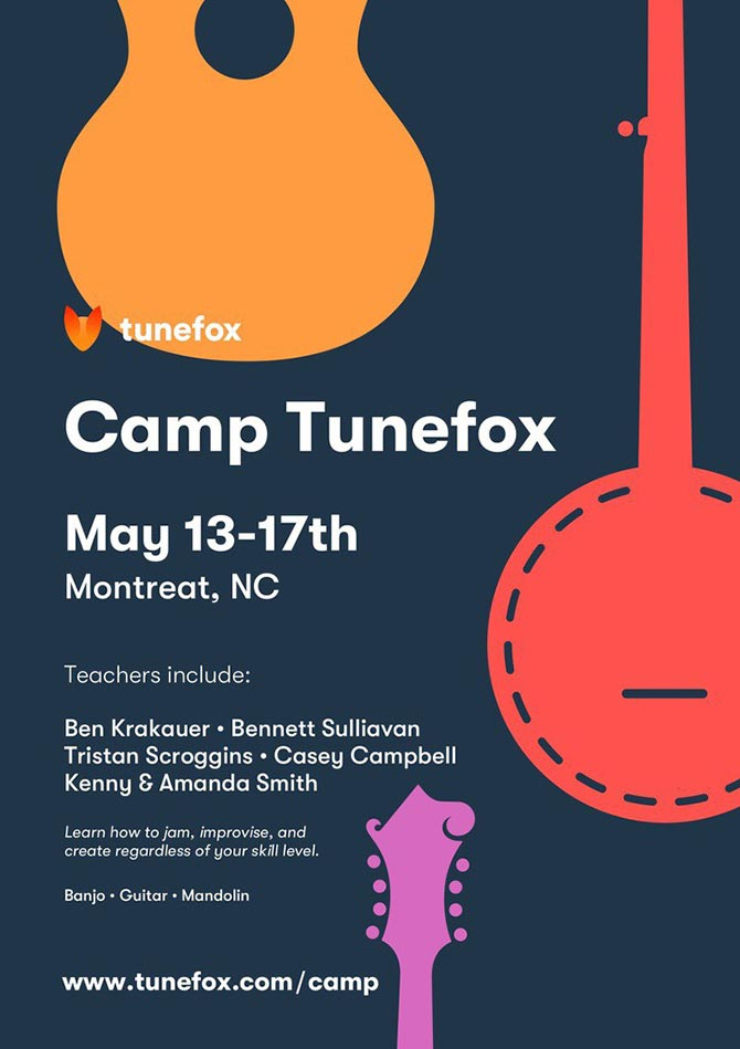 Second Annual Camp Tunefox Announced, Montreat, N.C. May 13-17