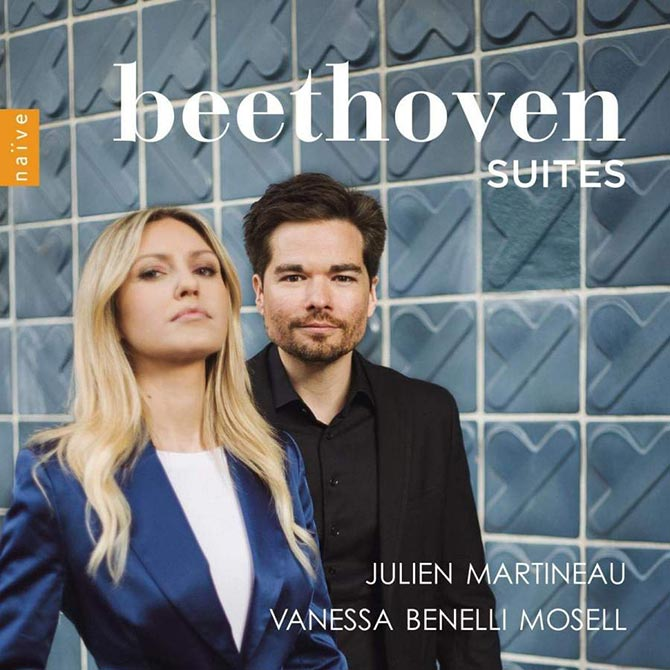 Beethoven Suites to feature Julien Martineau and Vanessa Benelli Mosell