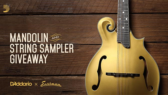 D'Addario and Eastman MD415GD Mandolin and Accessories Giveaway