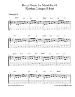 Click image for larger version.  Name:Barry Harris for Mandolin #8 Rhythm B Part.pdf Views:61 Size:254.9 KB ID:175678