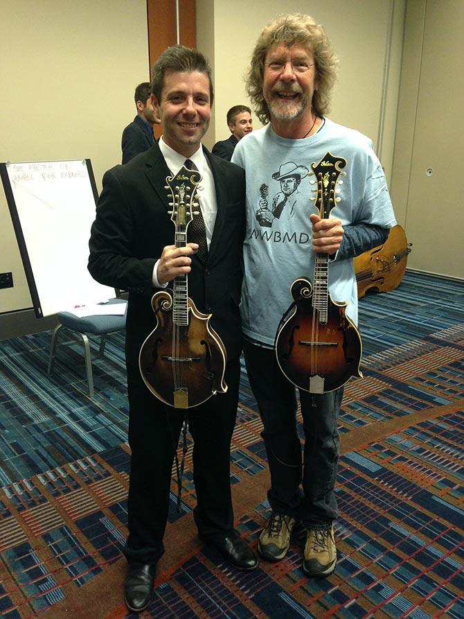 Scott with Sam Bush