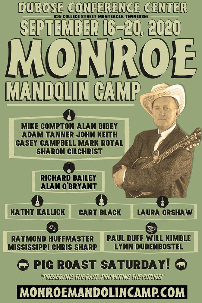 7th Annual Monroe Mandolin Camp