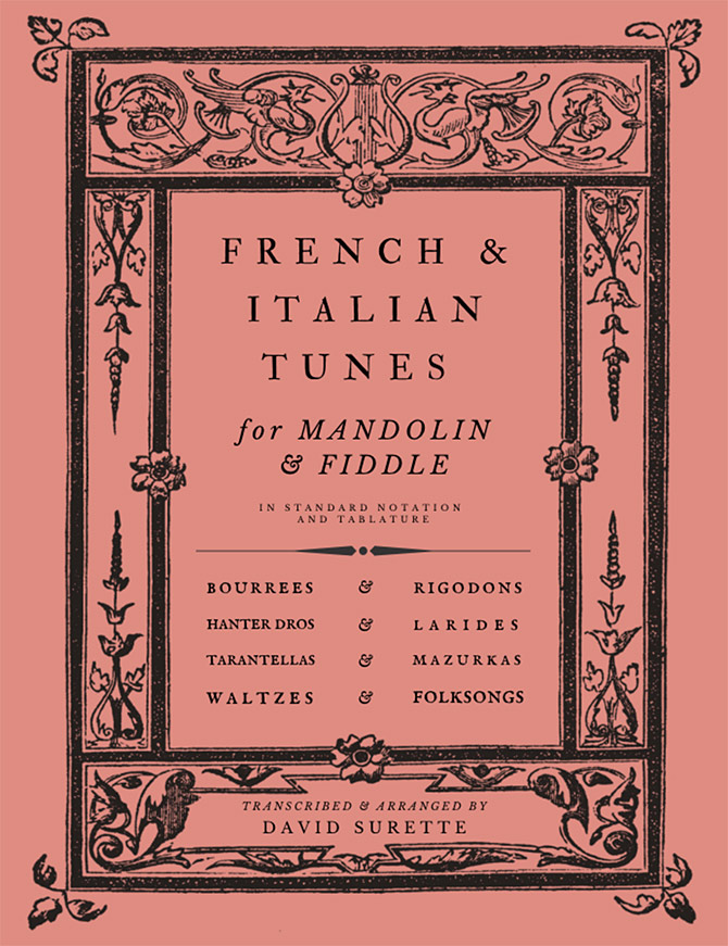 French and Italian Tunes for Mandolin and Fiddle