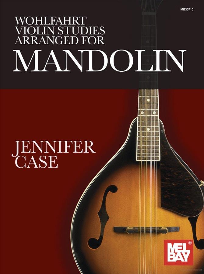 Wohlfahrt Violin Studies Arranged for Mandolin