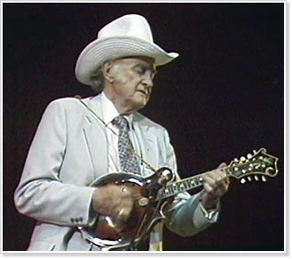 Bill Monroe in concert with The Bluegrass Boys, June 1986