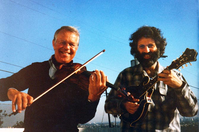 Svend Asmussen and David Grisman