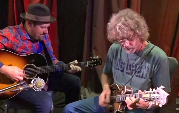Sam Bush in the D'Addario Studios - Red Haired Boy