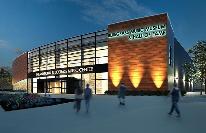 Bluegrass Music Hall of Fame & Museum Rendering