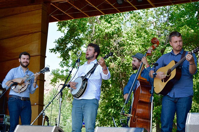 Slocan Ramblers at Rockygrass Contest