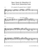 Click image for larger version.  Name:Barry Harris for Mandolin #18 Minor Sixth Diminished  Scale.pdf Views:34 Size:216.4 KB ID:184263