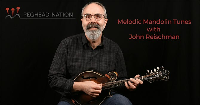 John Reischman's Peghead Nation Courses Launch