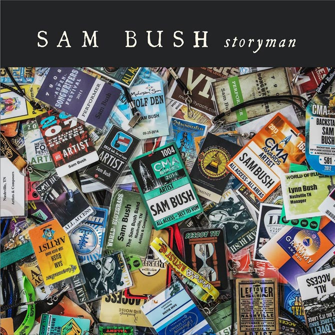 New Music from Sam Bush - Storyman