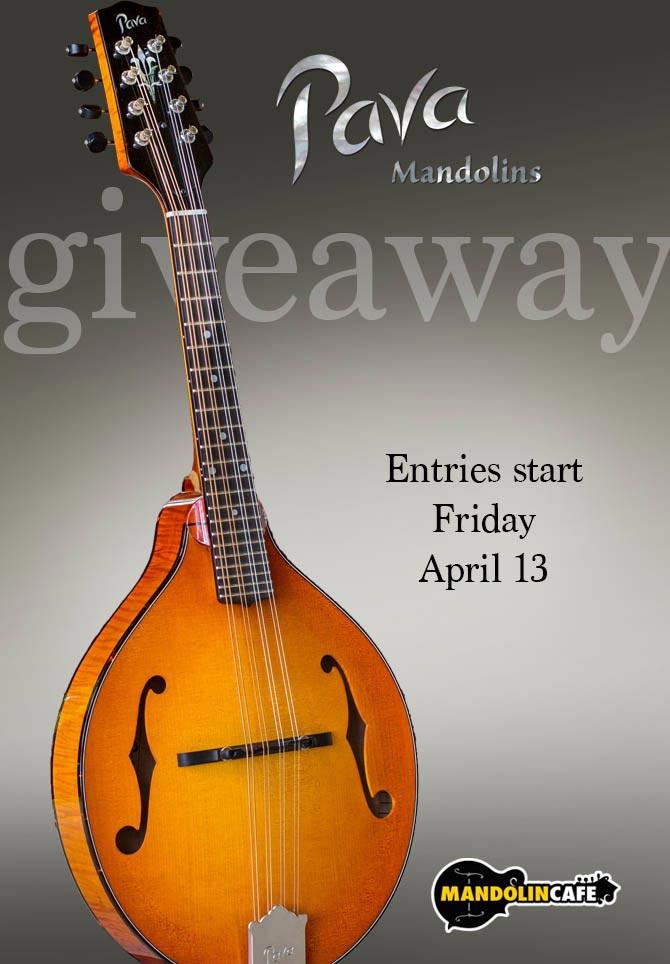 Pava A5 Pro Mandolin Giveaway