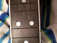 Click image for larger version.  Name:Glue in Fret Slots.jpg Views:29 Size:436.9 KB ID:177753