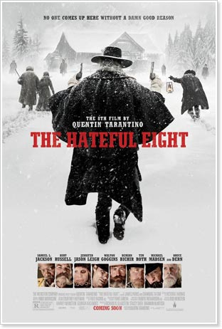 Tarantino's Hateful Eight Destroys Museum Martin