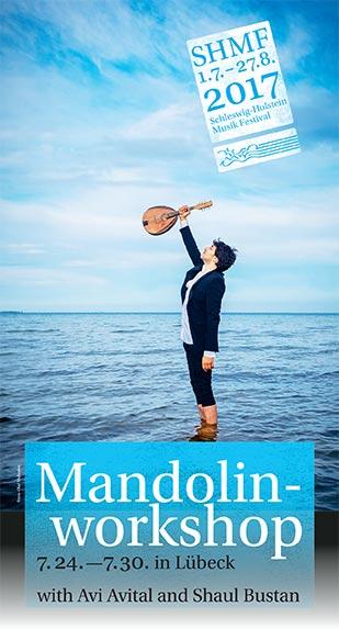 Avi Avital Mandolin Masterclass - Schleswig Holstein Musik Festival, Germany
