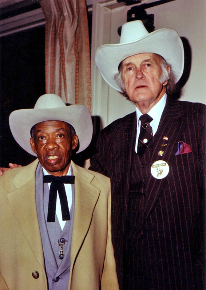 DeFord Bailey and Bill Monroe