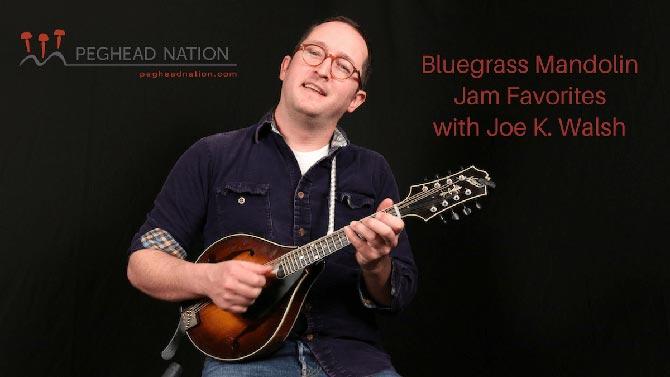 Peghead Nation Launches Bluegrass Mandolin Jam Favorites Course