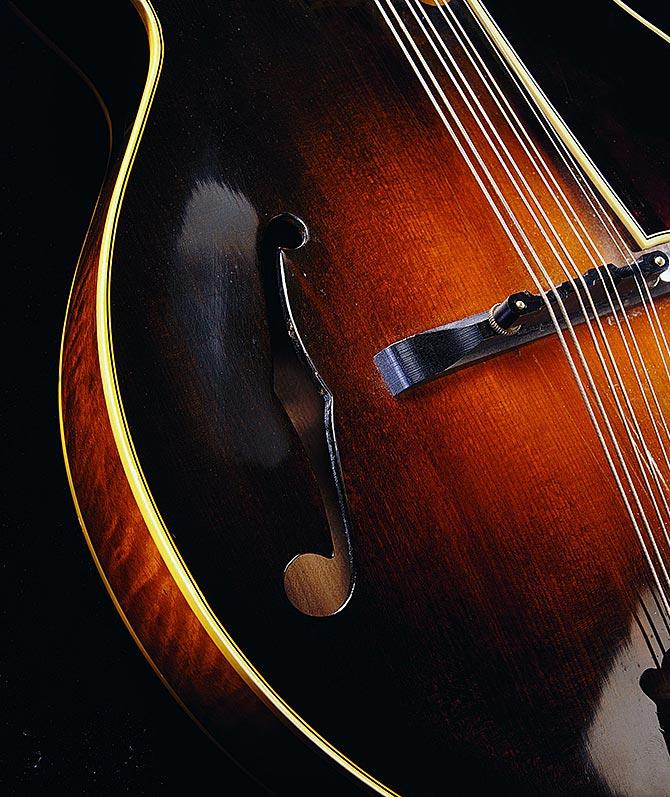 Tommy Comeaux Lloyd Loar mandolin