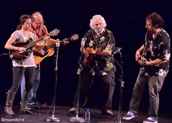 Mandolin Symposium: Emory Lester with Sierra Hull on octave mandolin, David Grisman and Mike Marshall