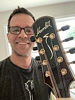Click image for larger version.  Name:Hamlett - Me and Headstock July 29 2021.jpg Views:235 Size:91.0 KB ID:195475