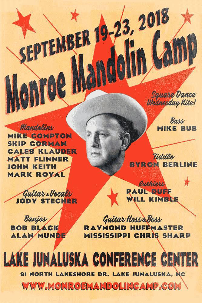 The 2018 Monroe Mandolin Camp
