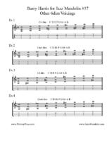 Click image for larger version.  Name:Barry Harris for Jazz Mandolin #37 Other 6dim Voicings.pdf Views:33 Size:112.3 KB ID:189520