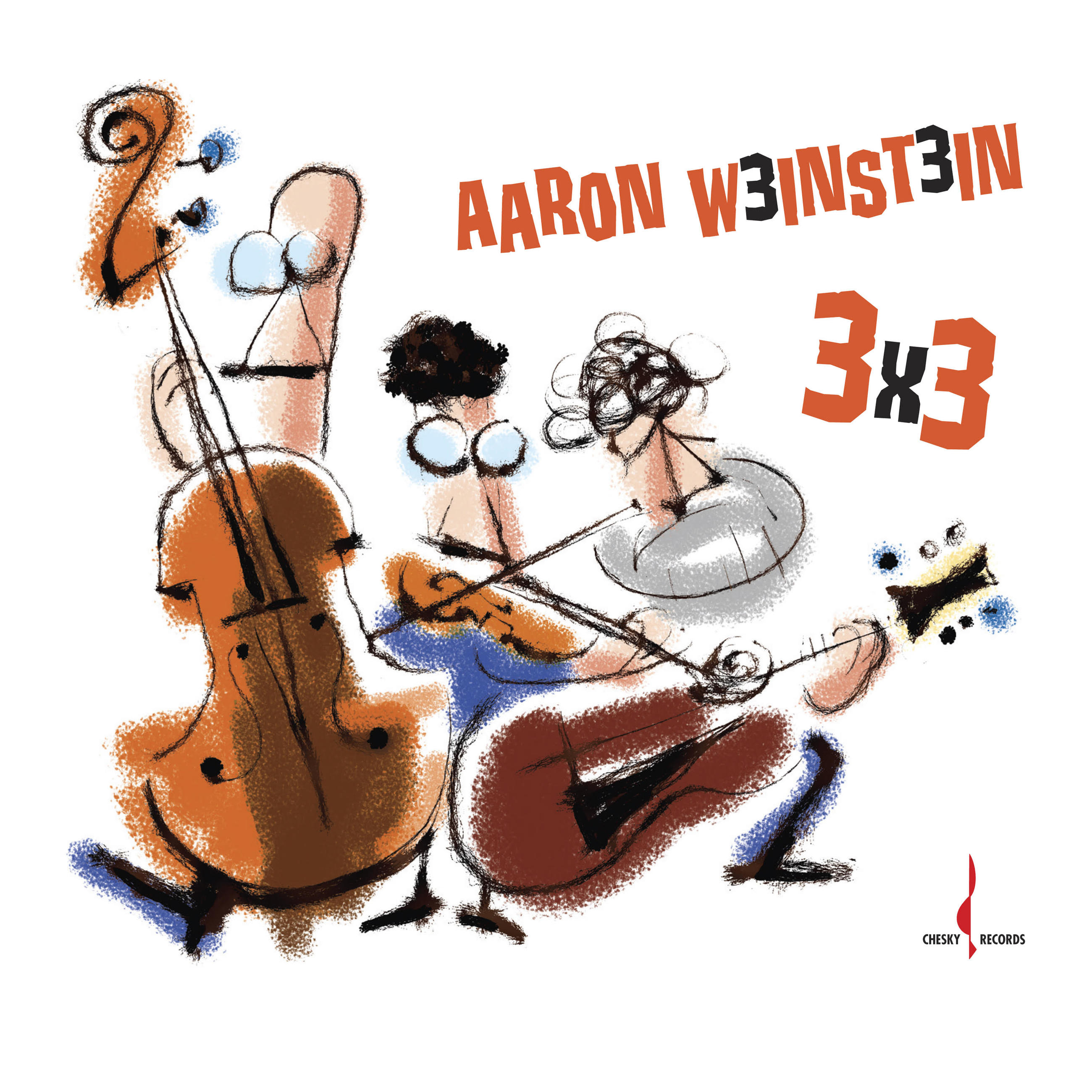 Fiddling with Mandolin on Aaron Weinstein's Chesky Jazz Debut 3x3