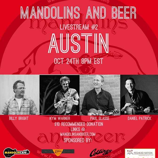 Mandolins and Beer Livestream Episode #2 - Austin, TX