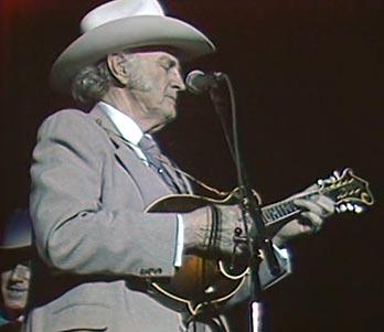 Bill Monroe in concert in Denver, February 19, 1986