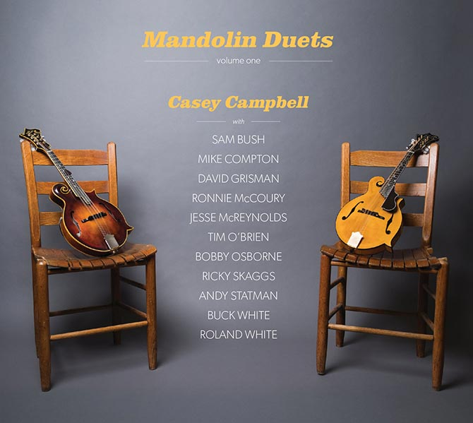 Casey Campbell - Mandolin Duets: Volume One