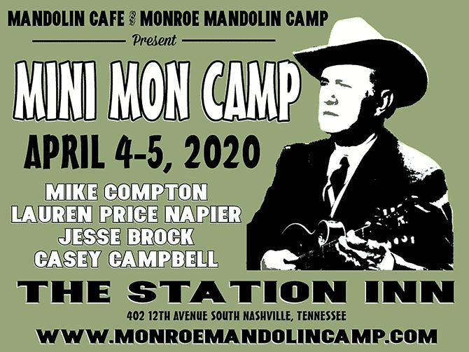 Mini-Monroe Mandolin Camp Coming to World Famous Station Inn in Nashville