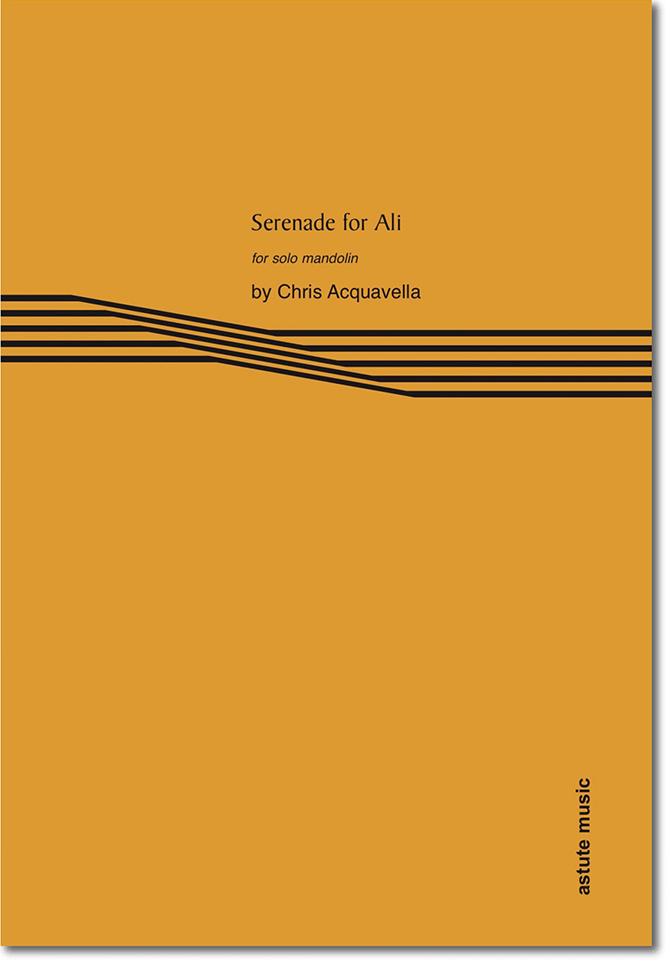 Serenade for Ali by Chris Acquavella