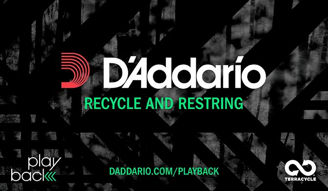 Playback - D'Addario's String Recycling In a Nutshell