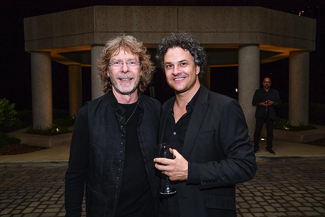 Kym Warner with Sam Bush