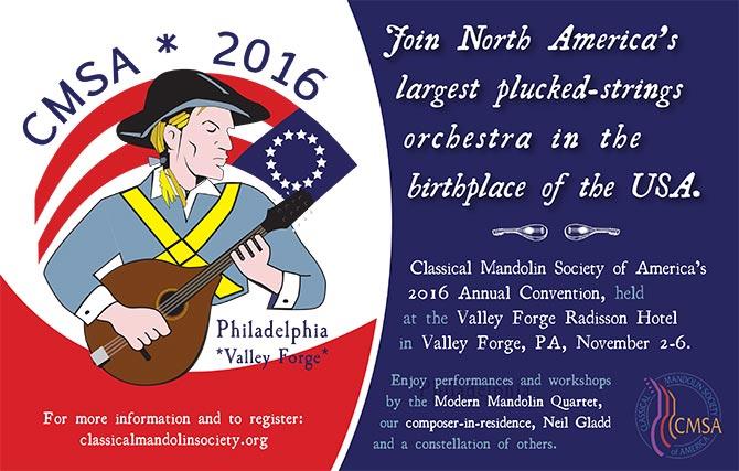 2016 Classical Mandolin Society of America Convention