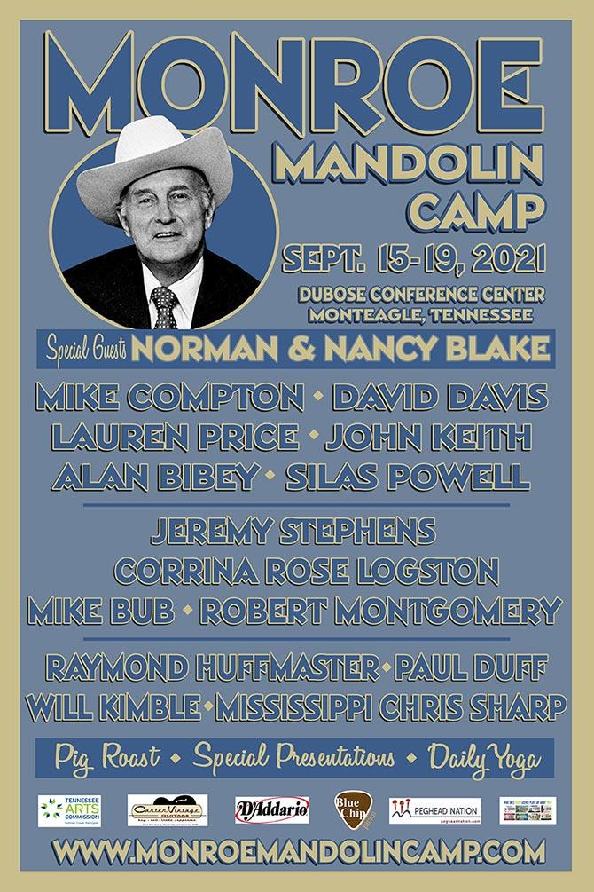 2021 Monroe Mandolin Camp