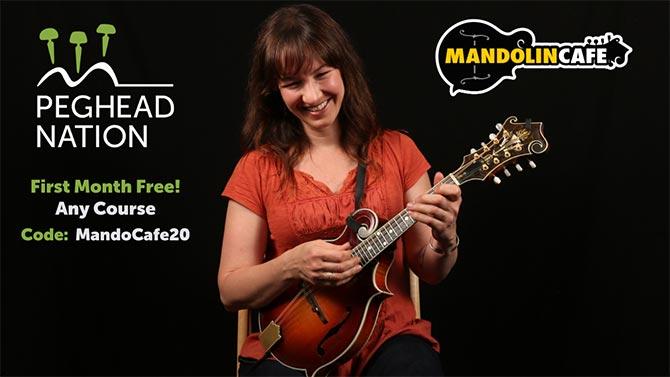 Peghead Nation Mandolin Cafe Promo - 2020 Holidays