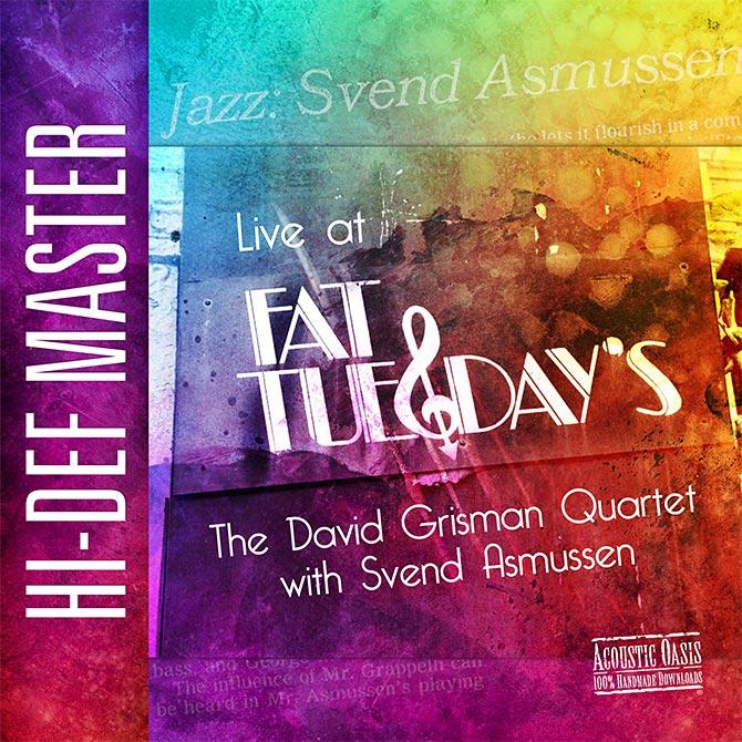 David Grisman Quartet with Svend Asmussen Live at Fat Tuesday's
