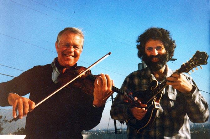 Svend Asmussen and David Grisman