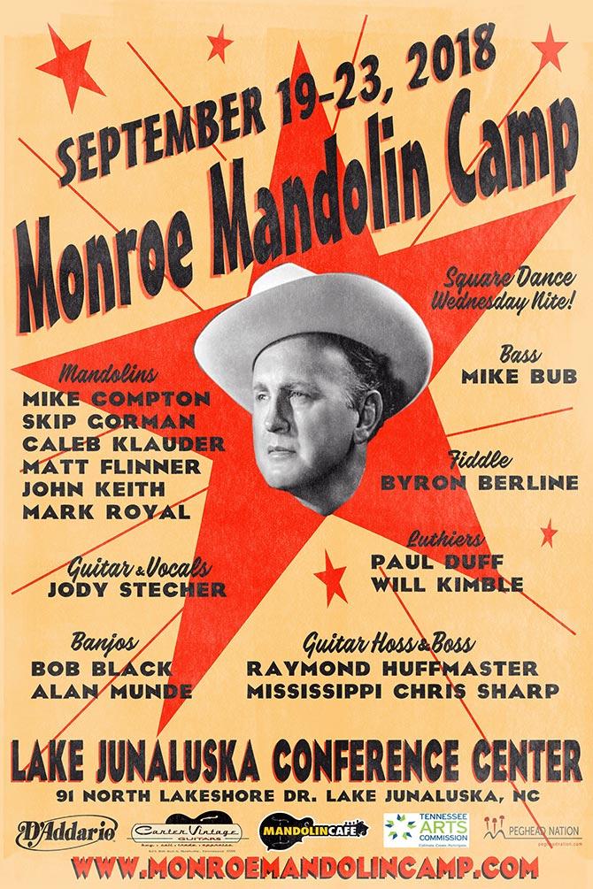 Monroe Mandolin Camp Poster