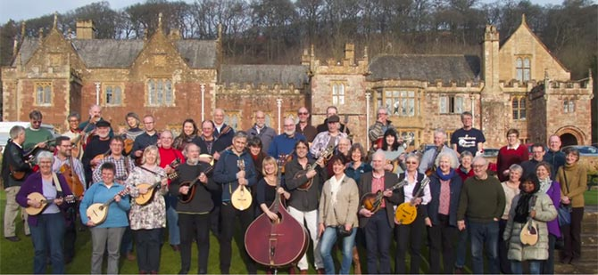 Highlights of the Mandolin Retreat at Kenwood Hall 2016