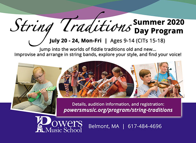 String Traditions Summer Day Program Camp Announced