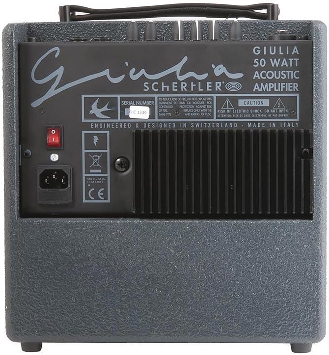 Schertler GIULIA Y Amp Giveaway
