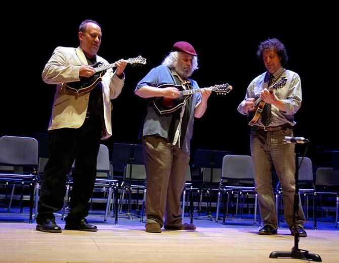 Mandolin Symposium. Emory with David Grisman and Mike Marshall