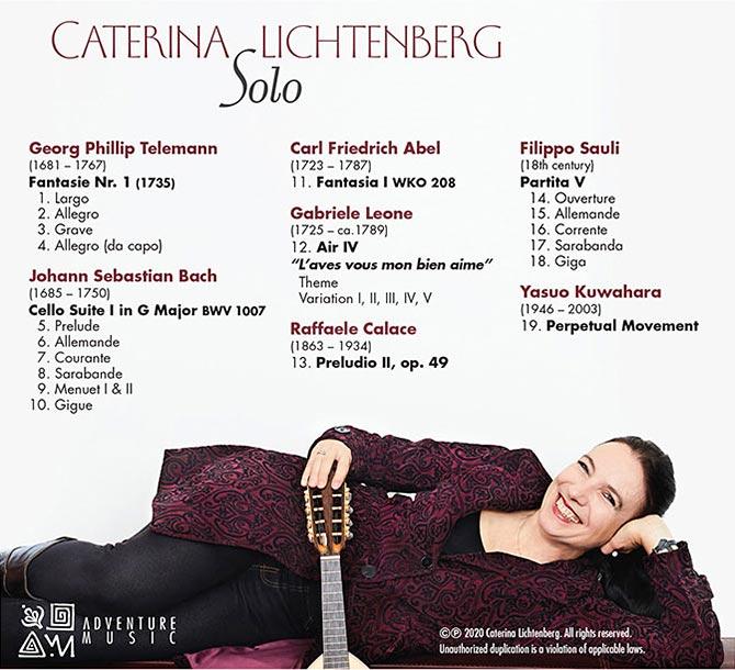 Caterina Lichtenberg - Solo