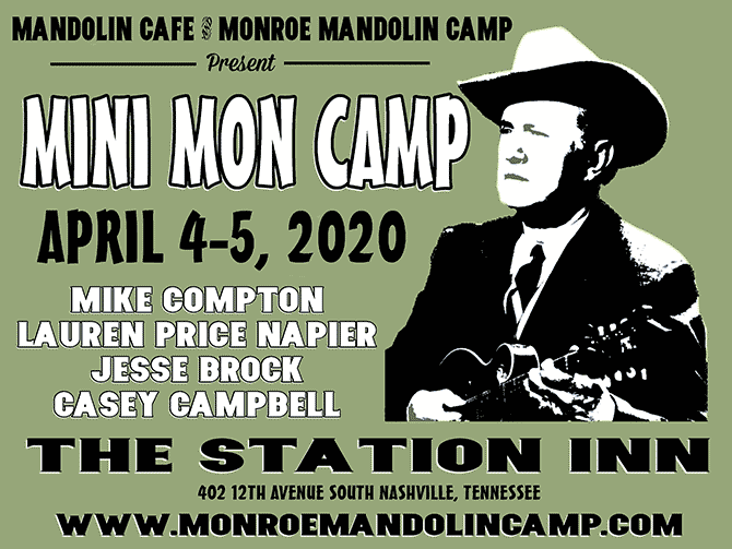 Mini-Monroe Mandolin Camp Coming to World Famous Station Inn in Nashville