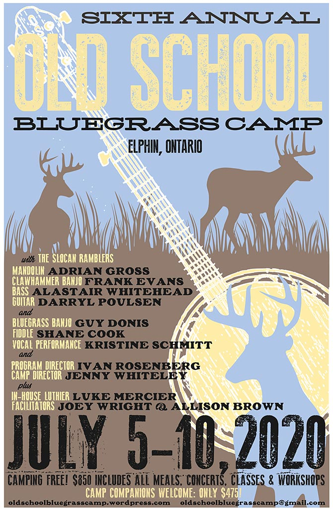 Old School Bluegrass Camp 2020